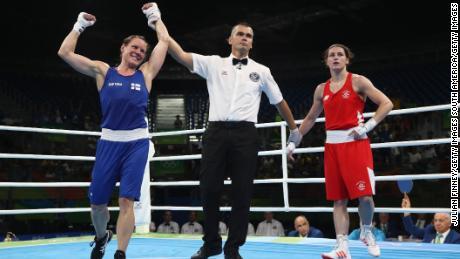 Taylor loses to Mira Potkonen of Finland in Rio de Janeiro.