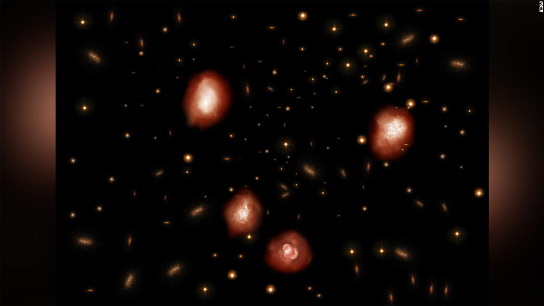 Astronomers uncover 'invisible' massive ancient galaxies - CNN