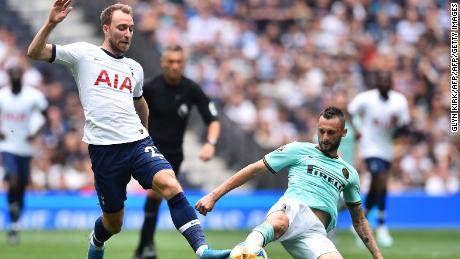 Tottenham Hotspur's Danish midfielder Christian Eriksen has been linked with a move to Spain.