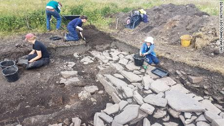 Archaeologists found a Viking 'drinking hall' on an island off the coast of Scotland