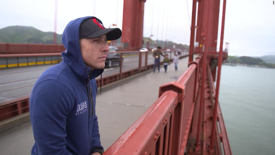 He jumped off the Golden Gate Bridge and survived. Now, he's seeing his wish for a safety net come true - CNN