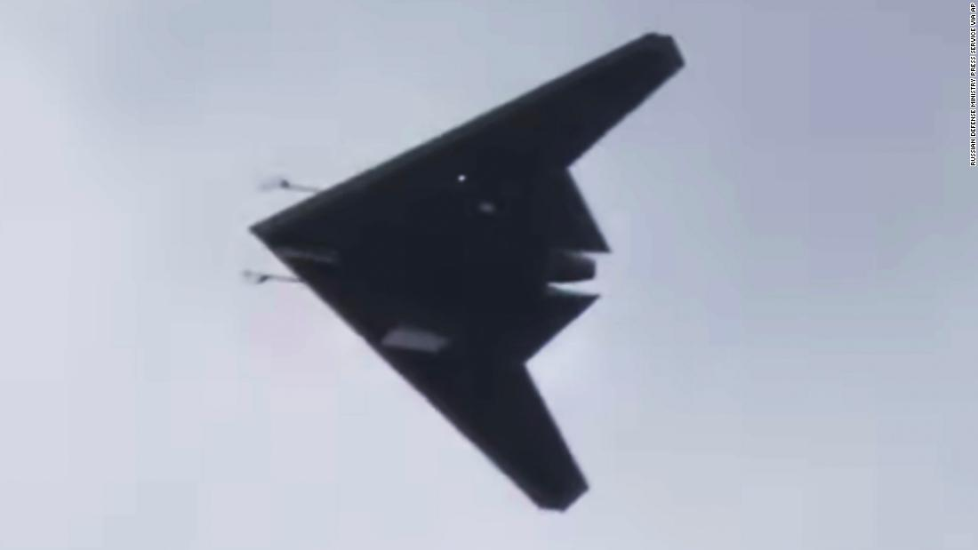 Russia has released footage of its new 'Hunter' stealth attack drone - CNN