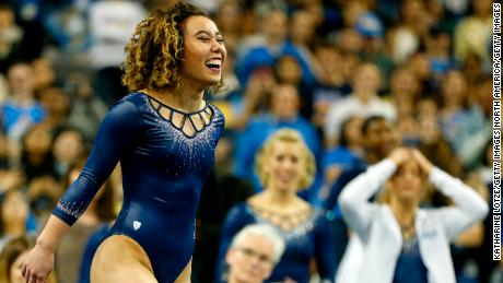 Ohashi performances her 'perfect 10' routine for UCLA.