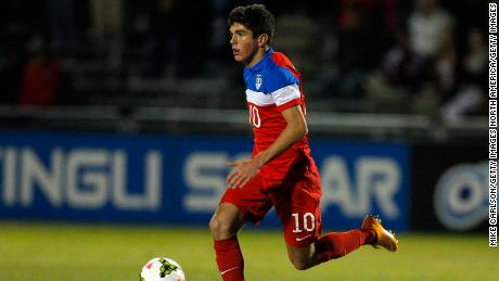 Pulisic faces England for the USA Under-17 team.