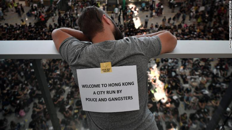 From extradition bill to police brutality, an evolving protest in Hong Kong