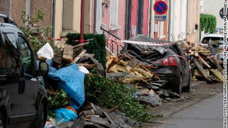 Tornado rips across southwest Luxembourg, at least seven injured