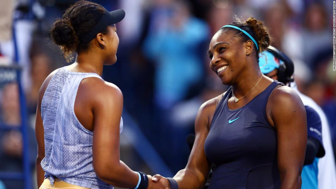 Serena Williams defeats Naomi Osaka in rematch of controversial US Open final - CNN