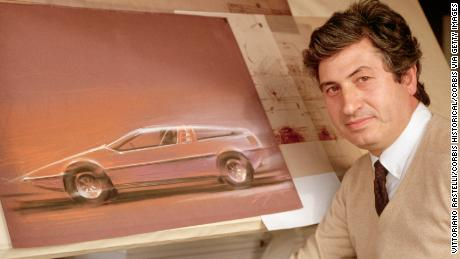 The unsung car designer who created the DeLorean and James Bond's underwater car