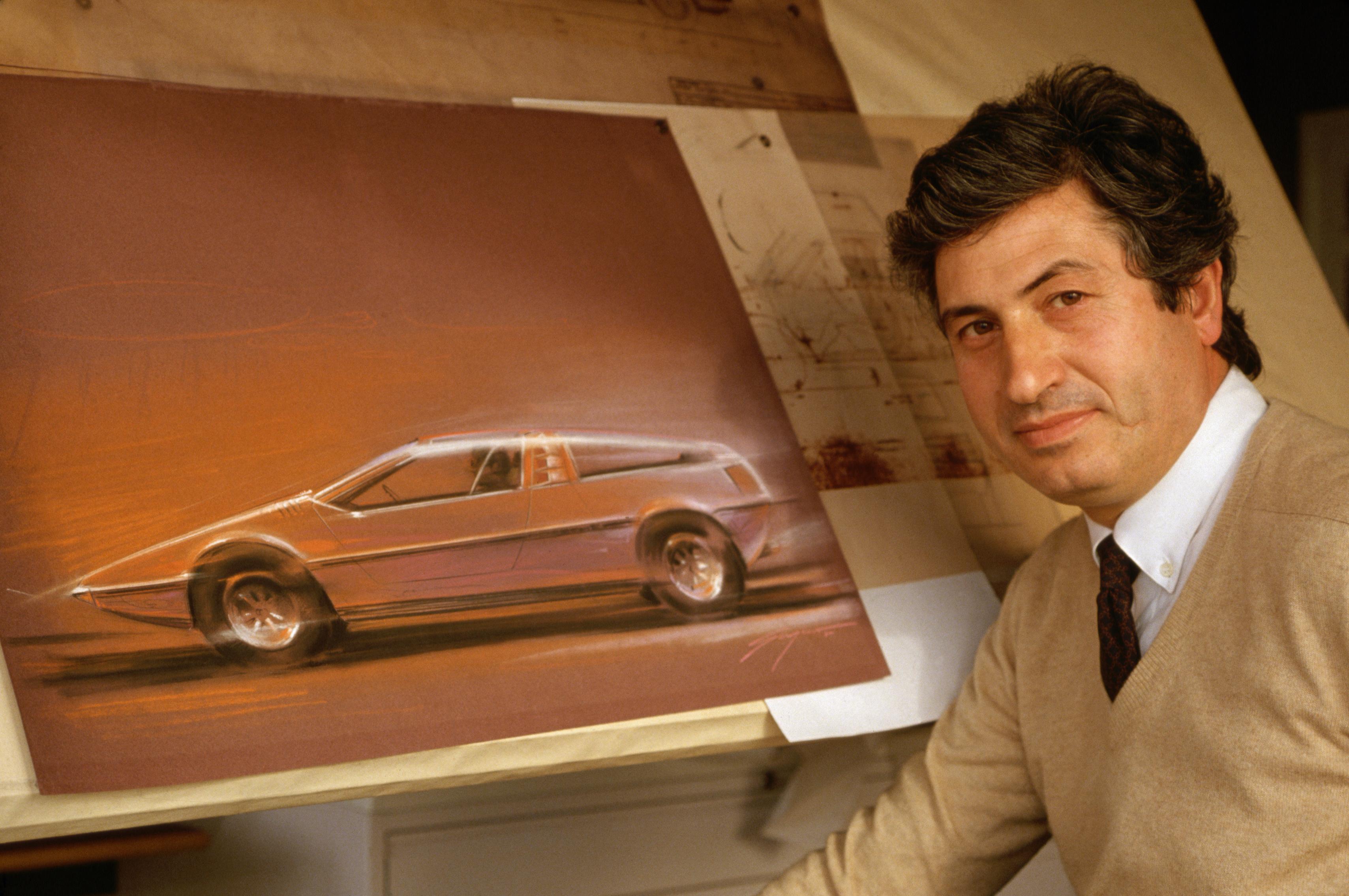Giorgetto Giugiaro The 20th Century S Most Influential Car Designer Cnn Style