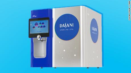 The Dasania PureFill water cooler.