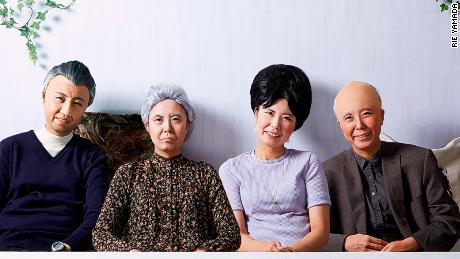 This peculiar photography project reimagines family portraits
