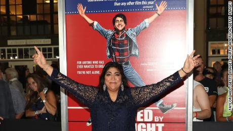 Gurinder Chadha at the premiere of 'Blinded by the Light.' (Photo by Taylor Hill/Getty Images)