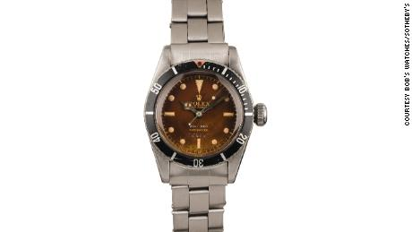 Rare 'James Bond' Rolex going under the hammer