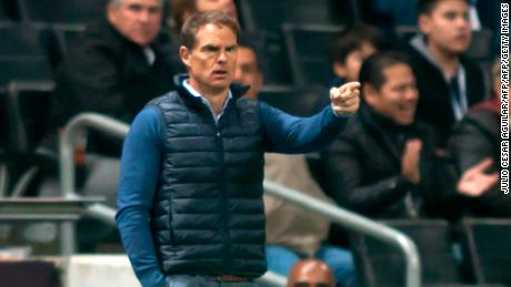 Frank De Boer coached in the Premier League before moving to the States.