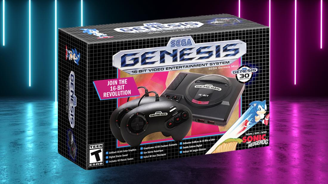 Here's how to preorder your Sega Genesis Mini