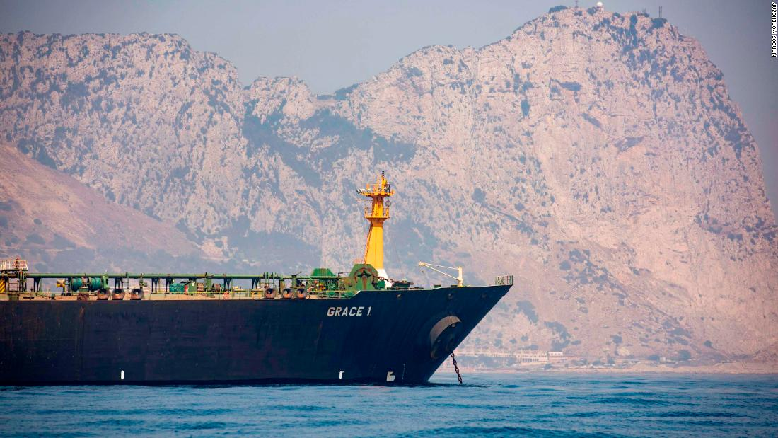 US makes last-ditch attempt to stop Iranian supertanker setting sail - CNN