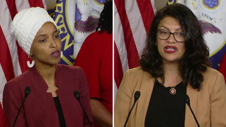 Social media users compare ban of Tlaib, Omar, to apartheid S