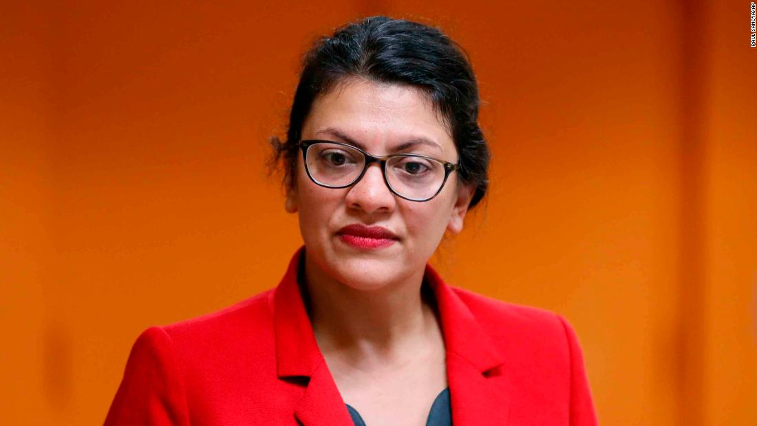 Rep. Rashida Tlaib says she won't visit Israel after being allowed to enter on humanitarian grounds - CNNPolitics