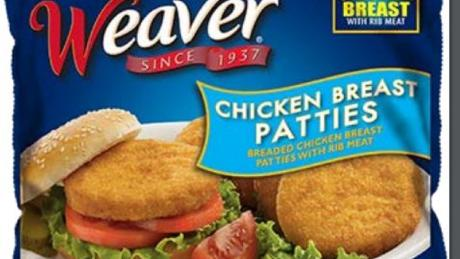 Tyson Recalls Weaver Frozen Chicken Patties | Nassau