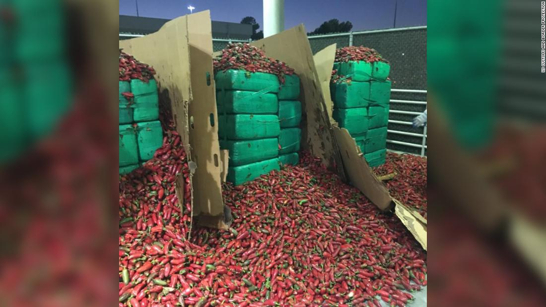 Nearly 4 tons of weed discovered inside a shipment of jalapeños - CNN