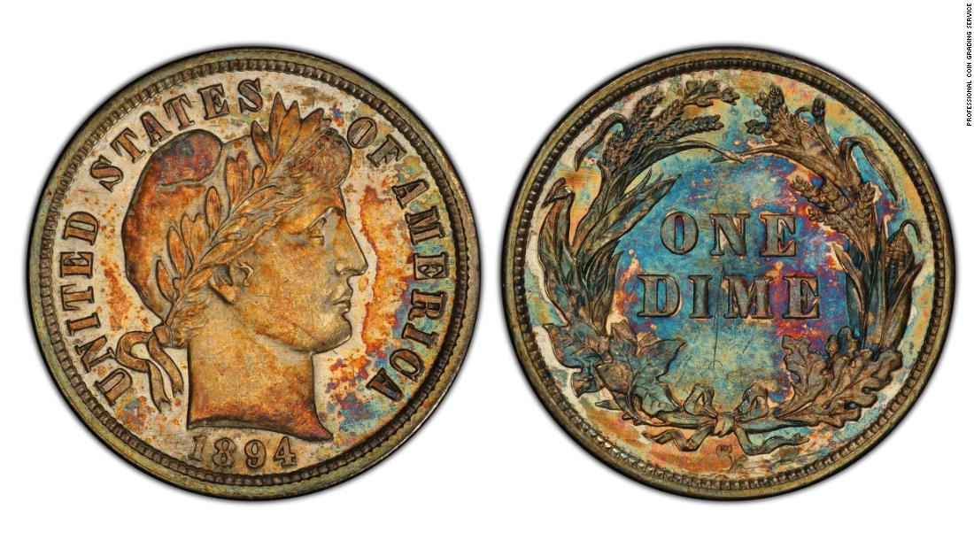 When is a dime worth $1.32 million?
