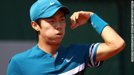 Deaf South Korean tennis player Lee notches landmark win
