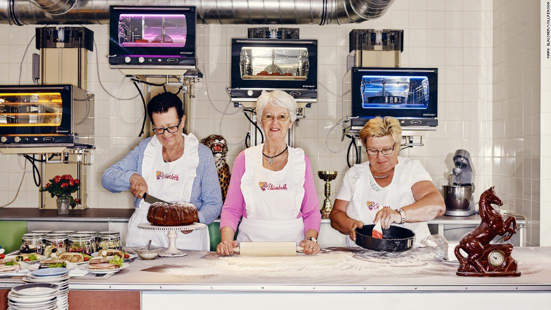 In this bakery, grandmas are the stars