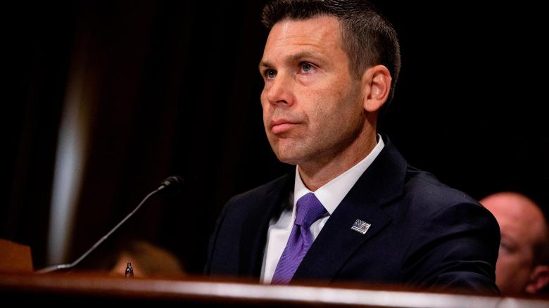 Trump announces acting Homeland Security Secretary McAleenan to leave post