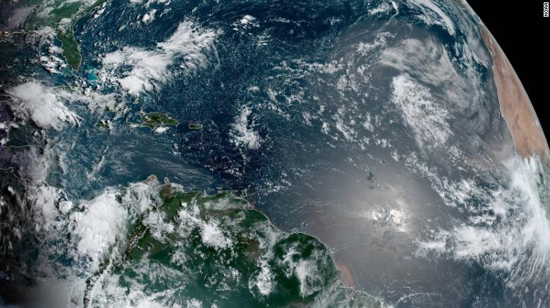 A tropical disturbance is moving toward Florida, and forecasters are watching