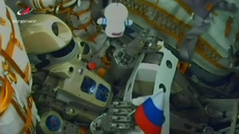 Soyuz craft carrying robot cosmonaut fails to dock with ISS