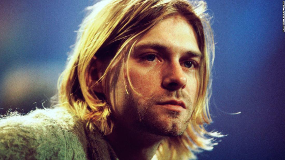Kurt Cobain adalah 'Unplugged' cardigan kepala untuk lelang