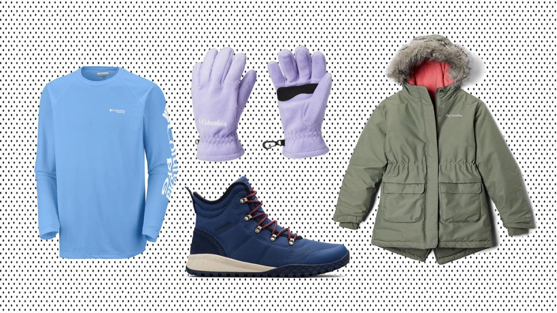 Save 25% on Columbia jackets, boots and more during the Labor Day Sale