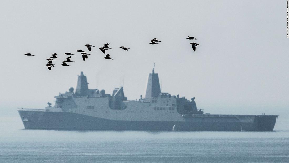 US warship sails through Taiwan Strait after Chinese officials canceled its Hong Kong port visit - CNNPolitics