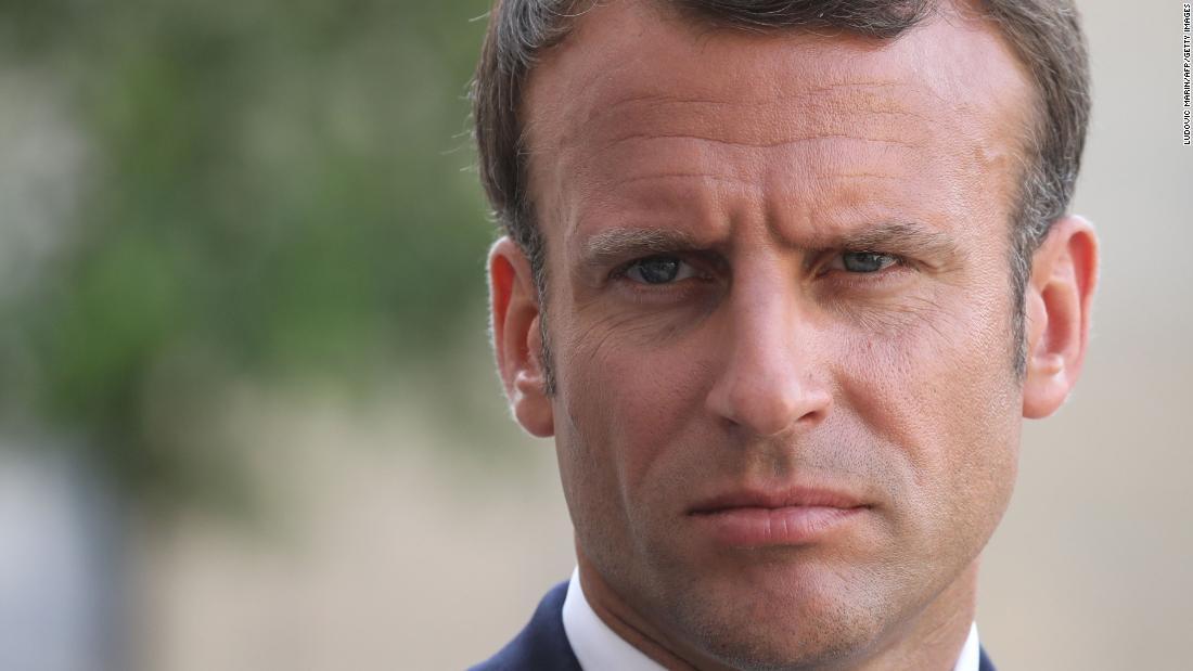 Macron calls Amazon fires an 'international crisis' ahead of G7 - CNN