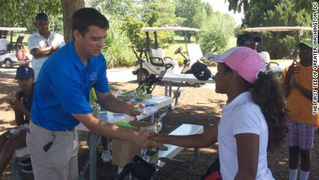 Clint Sanchez is the executive director of The First Tee of Greater Washington, DC.