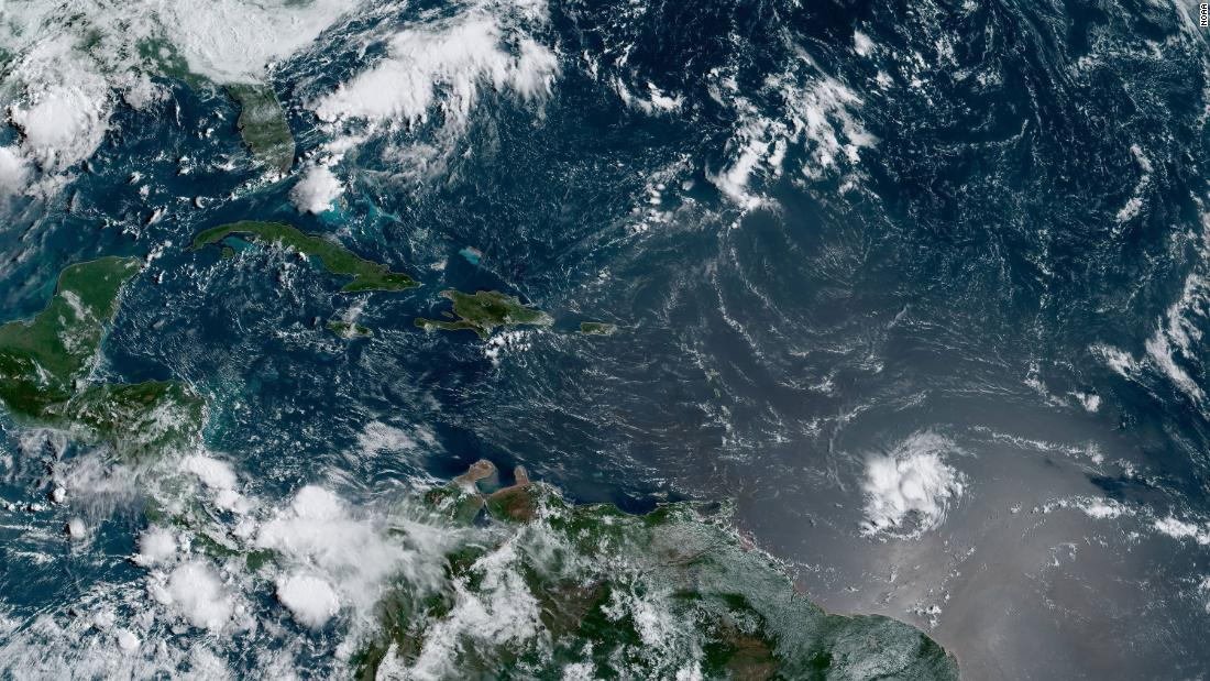 Tropical Storm Dorian expected to strengthen over coming days and near Puerto Rico - CNN