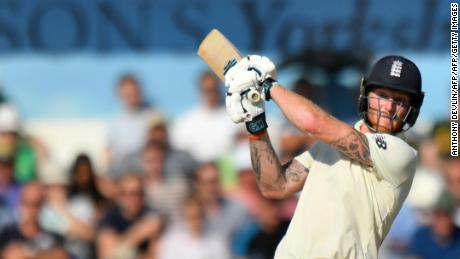 Ben Stokes hit 135 not out to help England win the third Ashes Test against Australia in August.