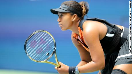 After an uneven start, Naomi Osaka starts US Open title defense with win over Anna Blinkova