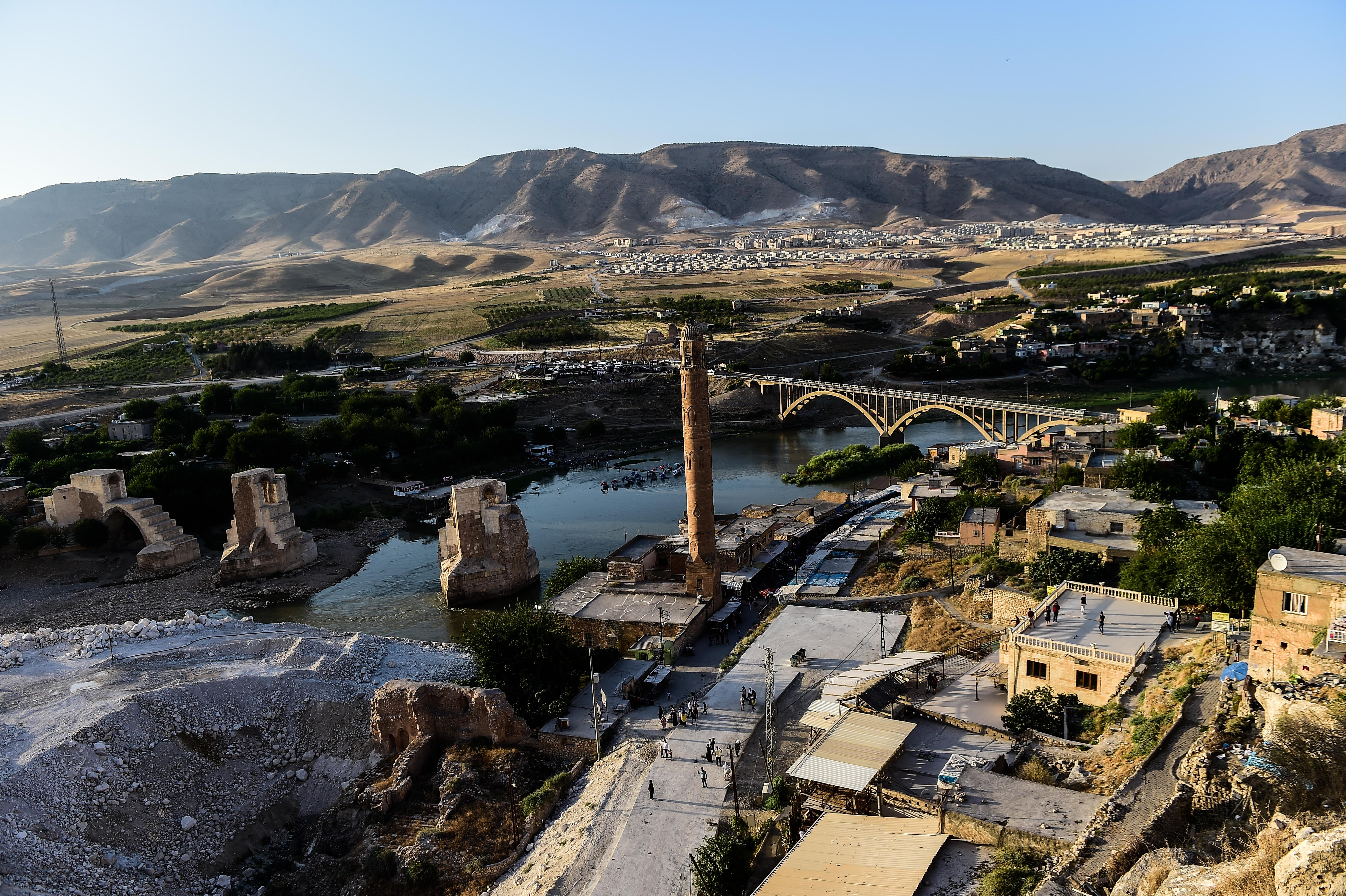 An ancient Turkish town with thousands of residents is weeks