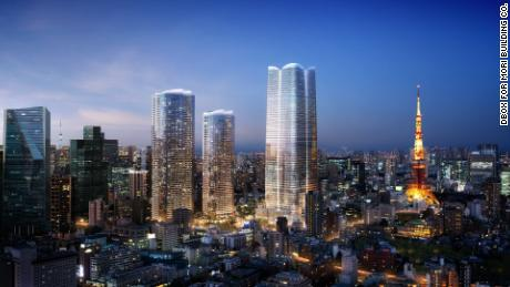 Tokyo tower to become Japan's new tallest skyscraper