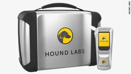 Hound Labs' THC breathalyzer