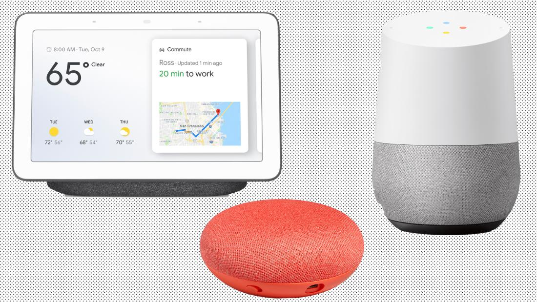 The entire line of Google Home devices on sale now at Walmart