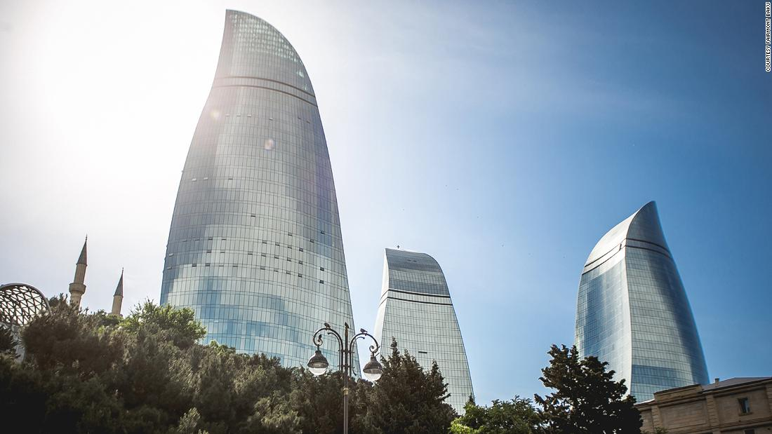 Flame Towers: Luxury atop one of the world's tallest hotels
