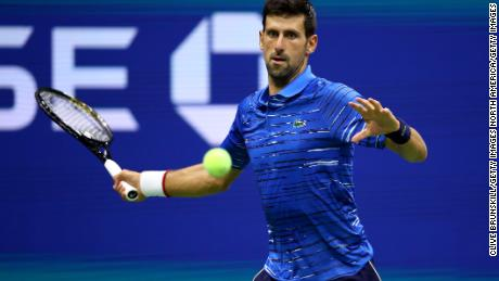 Novak Djokovic pushes past shoulder pain to advance to US Open 3rd round