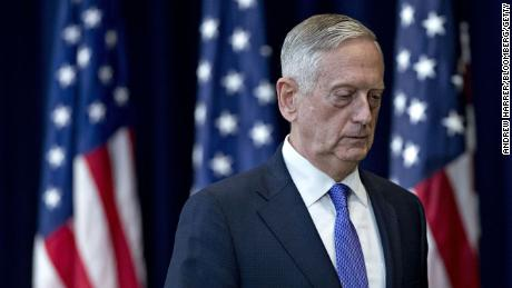 Mattis says he has a 'duty of silence' but his views on Trump are clear