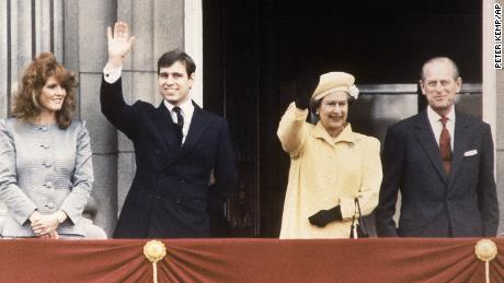 """Prince and and """"Fergie"""" were among the most popular royals in the late 1980s."""