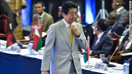 Abe pledges to boost investment in Africa