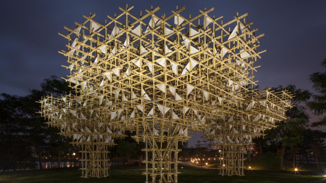 Preserving Macao's bamboo tradition through sculptural works