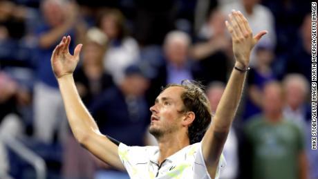 Daniil Medvedev wins again, trolls again at the US Open