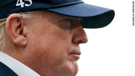 Trump went golfing as Hurricane Dorian threatens US